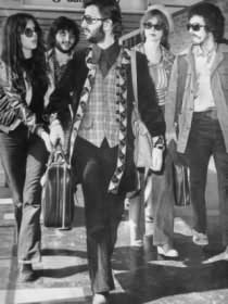 Maureen, unknown guy, Ringo, Pattie, and George