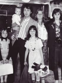 Paul, Linda, and family