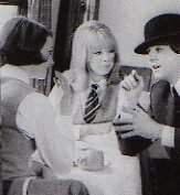 Unknown girl, Pattie, and Paul