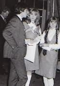 George, Pattie, and Girl