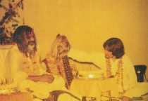 George, Pattie, and Maharishi