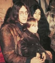John, Yoko, and Julian