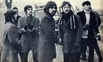 <span class=&quot;small-caps&quot;>It was chilly</span>, but the Beatles don&rsquo;t seem to mind, &rsquo;cause all the hair they&rsquo;re sporting kept the guys from freezing to death. Would you believe that groovy beard on George?