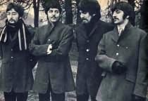 <span class=&quot;small-caps&quot;>Beatles flash new look</span> to the world as they gather around for some quick picture sessions to kick off their release of &ldquo;Strawberry Fields&rdquo; and &ldquo;Penny Lane.&rdquo;
