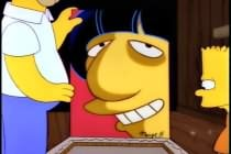 Homer Simpson and Ringo Starr