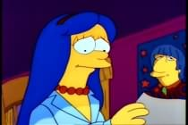 Marge Simpson and Ringo Starr
